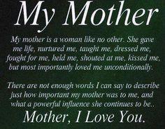 Mí madre