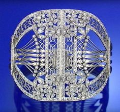 Boylerpf Antique Vintage Jewelry  Are diamonds a girl's best friend? What say you?  Diamond Bangle ~ 1905 Sotheby's  https://sphotos-b-lga.xx.fbcdn.net/hphotos-frc3/q71/1229910_10151793321962719_1394632138_n.jpg