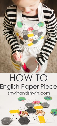 basics for english paper piecing