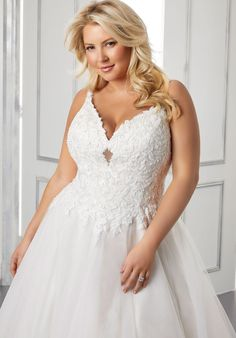 Plus Size Wedding Dresses: Julietta Collection | Morilee Wedding Dresses Photos, Bridal Wedding Dresses, Dream Wedding Dresses, Designer Wedding Dresses, Bridesmaid Dresses, Prom Dresses, Tulle Ball Gown, Ball Gowns, Gown Pictures