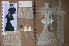 Fashion Sketchbooks, Artist Study with thanks to Deimante Mei Lune for Art School Students, CAPI ::: Create Art Portfolio Ideas at milliande.com Art School Portfolio, Fashion, Clothes, Design, Art, Figurative, Figure, People, Art Teacher, Art College, Sketchbook, Sketches