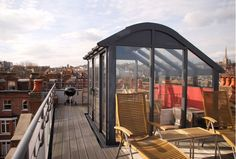 A Rooftop Extension in the Heart of London.