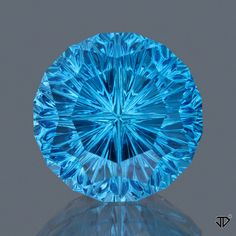 Swiss Blue Topaz Starbrite™ Cut 13.40 cts