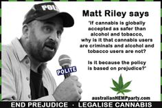 the harms of cannabis prohibition by matt riley