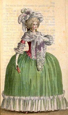 French Fashion (Sept 1786) - Magasin Des Modes Nouvelles Francaise et Anglaises