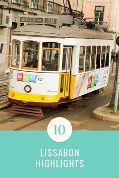 Die Highlights der Stadt Lissabon.