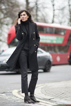 Pin for Later: Les Fashionistas du Monde Entier Se Sont Retrouvées à Londres Pour la Fashion Week Jour 4