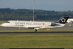 S5-AAG Adria Airways Canadair CL-600-2B19 Regional Jet CRJ-200LR