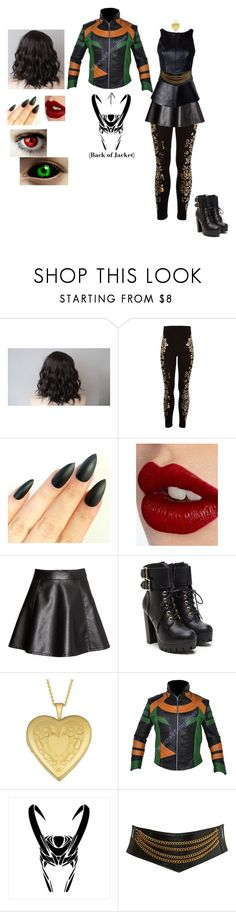 """Lilith"" by locksley-cxli ❤ liked on Polyvore featuring River Island, Charlotte Tilbury, H&M, Nicholas, Fremada and Miss Selfridge"