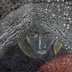 'MOON GIRL' by marachowska on artflakes.com as poster or art print $19.61