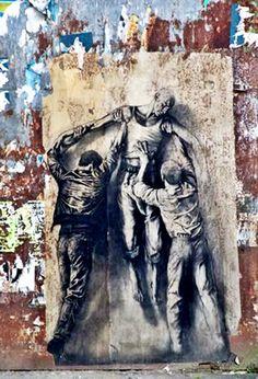 Beautiful graffiti and urban art from street artists all around the world // Street art online from Banksy, Aryz, Obey, Jef Aerosol & Fin Dac among others Murals Street Art, 3d Street Art, Amazing Street Art, Street Art Graffiti, Street Artists, Amazing Art, Graffiti Artists, Kunst Online, Online Art