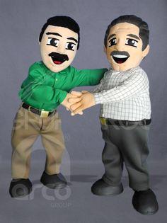 Botargas Alianza PRI Casillas y Zamora ¡Conoce más botargas de partidos políticos y figuras humanas aquí! http://www.grupoarco.com.mx/venta-de-botargas/botargas-de-figuras-humanas-en-mexico/
