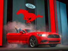 2015 Ford Mustang 50th Anniversary Celebration launch