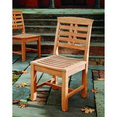 Kingsley-Bate: Elegant Outdoor Furniture. Mandalay dining side chair