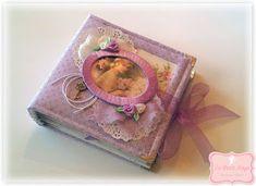 """Le Petit Ange: Χειροποίητο μίνι άλμπουμ """"Purple Dreams"""""""