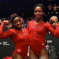 #BLACKGIRLMAGIC: Gymnasts Simone Biles & Gabrielle Douglas Make HISTORY At World Championships!