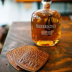 Our Bourbon Coasters have long-awaited their opportunity to be featured on the Kentucky Bourbon Trail. When they were created we always knew that was where they belonged.  We're proud to say that @sweetmashgoods is making that happen. Shout out to our newest retailer in Lawrenceburg....just steps away from some of Kentuckiana's best distilleries! by claytonandcrume
