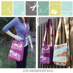 Zoe Messenger Bag | YouCanMakeThis.com