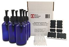 (6) 4 Ounce 4 oz Empty Cobalt Blue Glass Bottles W/black ... https://www.amazon.com/dp/B01EVMDPBS/ref=cm_sw_r_pi_dp_x_IR01xb2YA1EEY