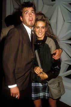 Sarah Jessica Parker And Robert Downey Jr, 80's love.