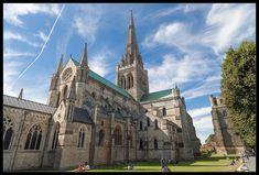 Chichester is a beautiful cathedral city in South-East England. It has a long history and some very pretty places to see! Chichester, Cathedral City, Barcelona Cathedral, Beautiful Places To Visit, Places To See, South East England, Us Travel, Travel Destinations, Architecture