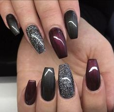 Nails trends The spring 2019 nail trends you need to know 00007 - - Spr. The spring 2019 nail trends you need to know 00007 - - Spring Nails - Fancy Nails, Cute Nails, Pretty Nails, My Nails, Colorful Nail Designs, Nail Art Designs, Winter Nail Designs, Nails Design, Nail Designs With Glitter