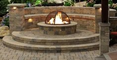 Gas Fire Pits - Traditional - Patio - salt lake city - by . Fire Pit Bench, Fire Pit Table, Fire Pit Lowes, Stone Fire Pit Kit, Modern Fire Pit, Cool Fire Pits, Concrete Fire Pits, Fire Pit Designs, Brick Patios