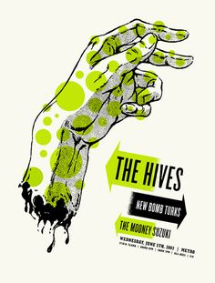 The Hives by Aesthetic Apparatus. This is one of the pieces I saw, once upon a time, that made me decide to be a graphic designer.