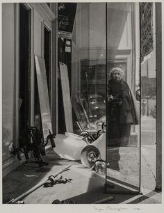 """Self‑Portrait on Geary Street"" Imogen Cunningham (American, 1883–1976) 1958, printed then Photograph, gelatin silver print"