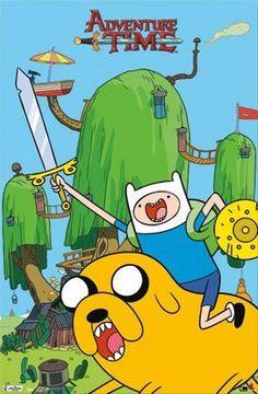 Adventure Time Finn and Jake TV Poster Print @ niftywarehouse.com