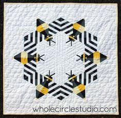Bzzzzzz quilt | whole circle studio