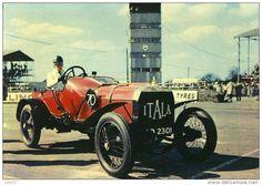 PUBLICITE - Automobile Itala - GP Italia Circa 1908