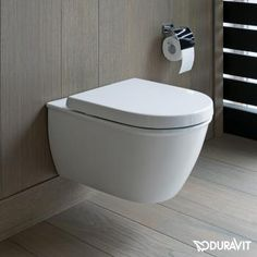 Duravit Darling New wall-mounted, washdown toilet, rimless