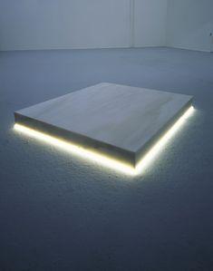 Christian Herdeg,Step-On, 1975 Best Poems, Neon Glow, Lighting Design, Wall Lights, Christian, Contemporary, Lion, Marble, Artist