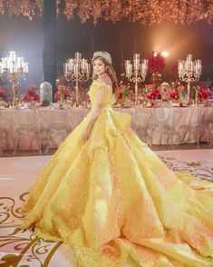 Beauty and beast dress ⚘ Beauty And The Beast Wedding Theme, Beauty And The Beast Dress, Dream Wedding Dresses, Wedding Gowns, Debut Dresses, Debut Gowns Princesses, Wedding Evening Gown, Vetements Clothing, Pretty Quinceanera Dresses