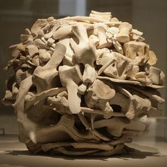 Sculpture in National Museum  - Andy Goldsworthy