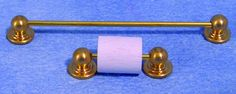 Towel Rail and Toilet Roll Holder for 12th Scale Dolls House (D537)   Hobbies   Streets Ahead