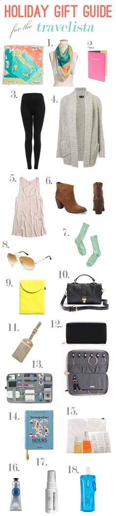 Great fashion items for the traveling, fashionable lady!