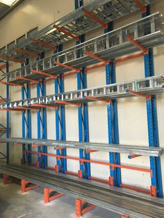 Cantilever Racking - The only way to store all those non-standard sized items.