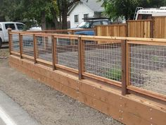 Stunning Wooden fence qatar,Front yard fence restrictions and Modern fence ideas backyard. Hog Wire Fence, Gabion Fence, Fence Planters, Brick Fence, Concrete Fence, Front Yard Fence, Bamboo Fence, Dog Fence, Metal Fence