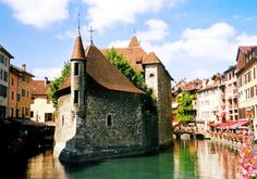 Annecy, Rhone Alpes, France #travel #places