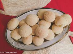 Pão de queijo (brasilianische Käsebrötchen) / Pão de queijo (brasilian bread)