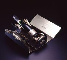 Champagne Piper Heidsieck. Coffret Sauvage. Memento #Linea