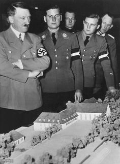 Hitler and Von Schirach Jan. 1938