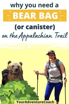 Some of the most common questions, and anxieties, about the Appalachian Trail are about bears. Yes, there are definitely bears on the Appalachian Trail! I haven't met too many hikers who haven't seen a black bear on the trail. But encountering a black bear doesn't have to be scary or dangerous… as long as you don't do anything stupid and always hang a proper bear bag.