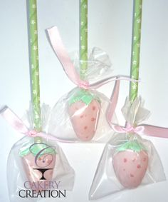 Strawberry Cake Pops. Cakery Creations - Daytona Beach, FL