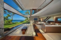 Jewel of Kahana - Living Room View