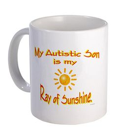 Take a look at this White 'Ray Of Sunshine' Mug by CafePress on #zulily today!
