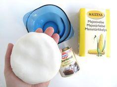 ingredienser til selvtørrende ler