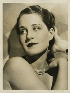 Norma Shearer by Ruth Harriet Louise | Flickr